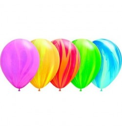 10 Ballons agathe marbrés
