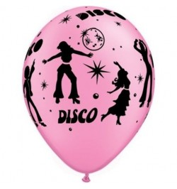 10 Ballons Disco Party
