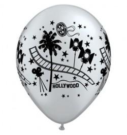 10 Ballons Hollywood stars 30cm