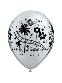 10 Ballons Hollywood stars 30cm