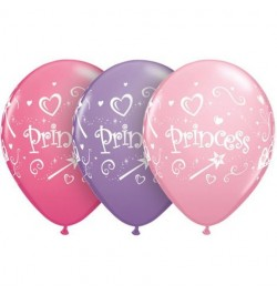 10 ballons princesse 30cm
