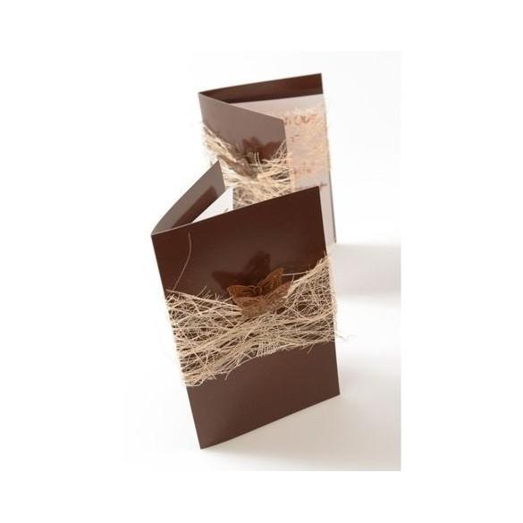 10 Menus brillant chocolat