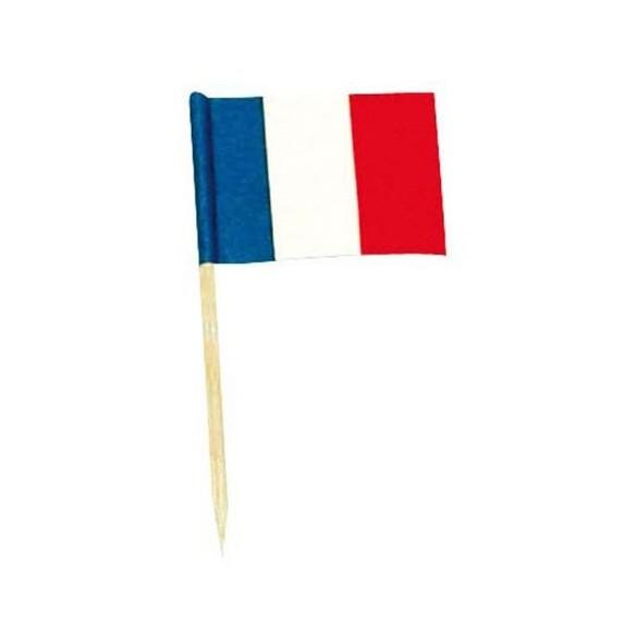 144 mini drapeaux France