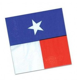 16 Serviettes USA lunch Texas