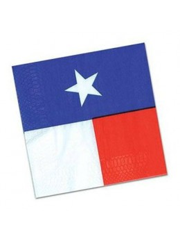 16 Serviettes lunch Texas