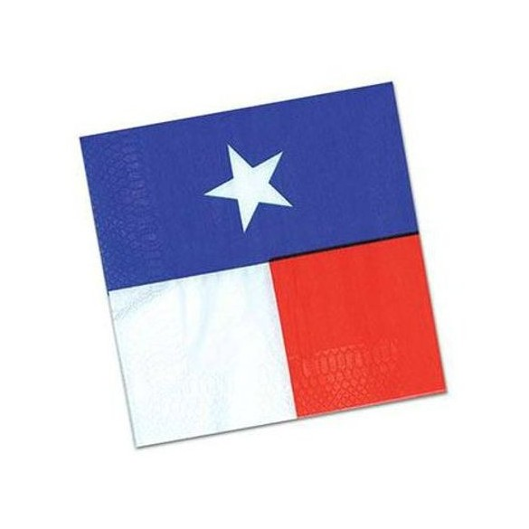 16 Serviettes Texas PM