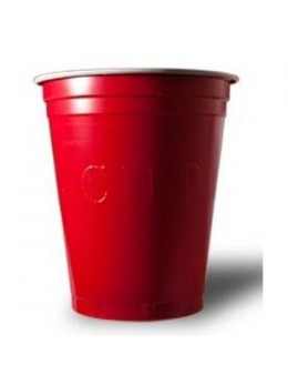 100 Gobelets Red Cup rouge