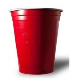 200 Gobelets Red Cup rouge