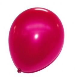 24 ballons fuchsia nacrés