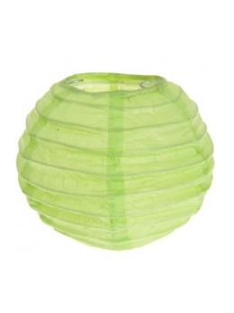2 Mini lampions déco vert