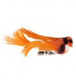 4 petits oiseaux orange