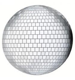 4 Sets de table boule disco