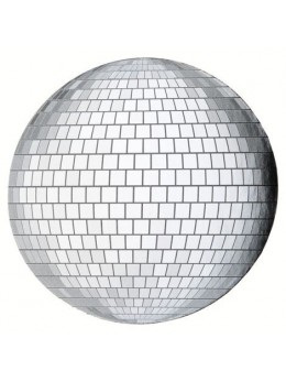 4 Sets de table boule disco