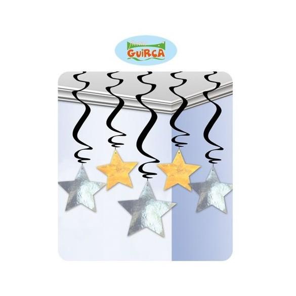 5 Suspensions étoiles