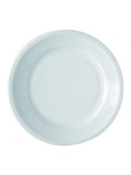 50 Assiettes plastiques 22cm