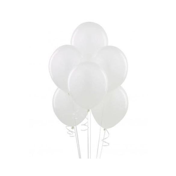 50 ballons blanc