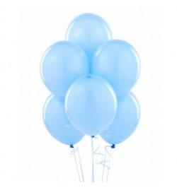 50 ballons bleu ciel