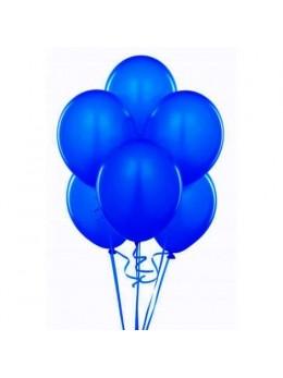 50 ballons bleu roi