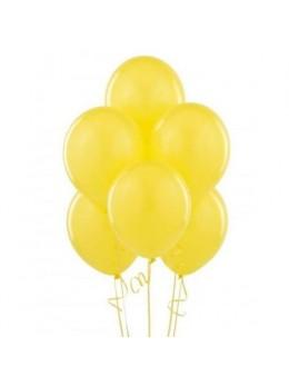 50 ballons jaune