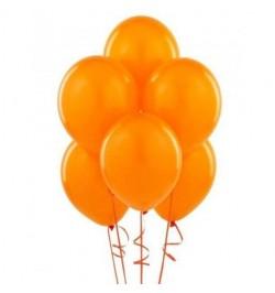 50 ballons orange