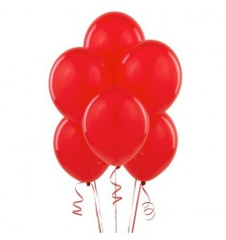 50 ballons rouge