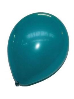 50 ballons turquoise nacrés
