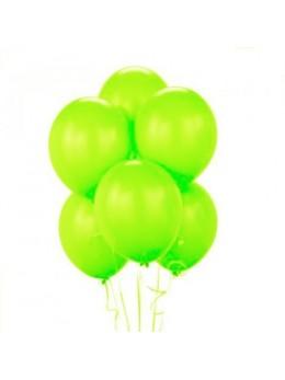 50 ballons vert pomme