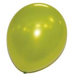 50 ballons vert pomme nacrés