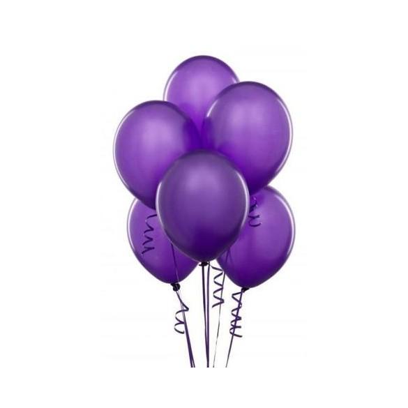 50 ballons Violet