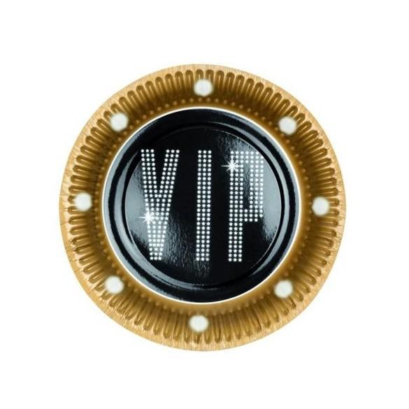 6 Assiettes VIP