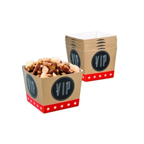 6 Coupelles carton VIP