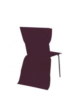 6 Housses de chaises bordeaux