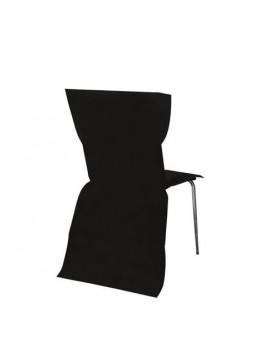 6 Housses de chaises noir