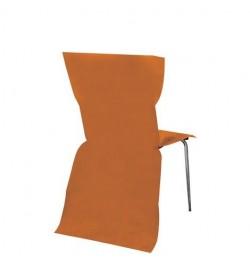 6 Housses de chaises orange