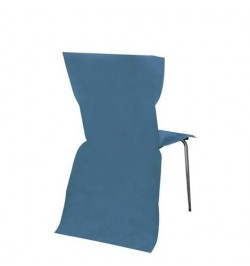 6 Housses de chaises turquoise