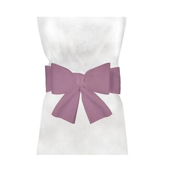 6 Noeuds pour housse de chaise rose pastel