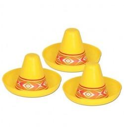 6 Sombrero miniatures