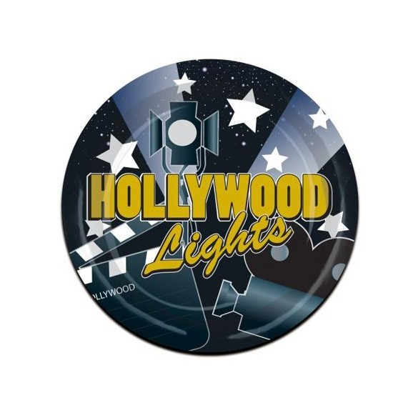 8 Assiettes Hollywood light 23cm