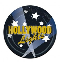 8 assiettes Hollywood lights PM
