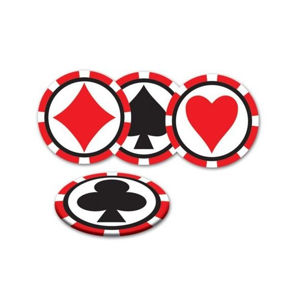 8 Dessous de verre casino