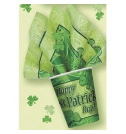 8 Gobelets Saint Patrick