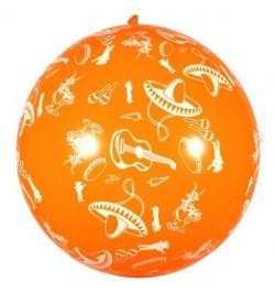 Ballon géant fiesta mexicaine