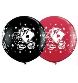 Ballon casino 1m