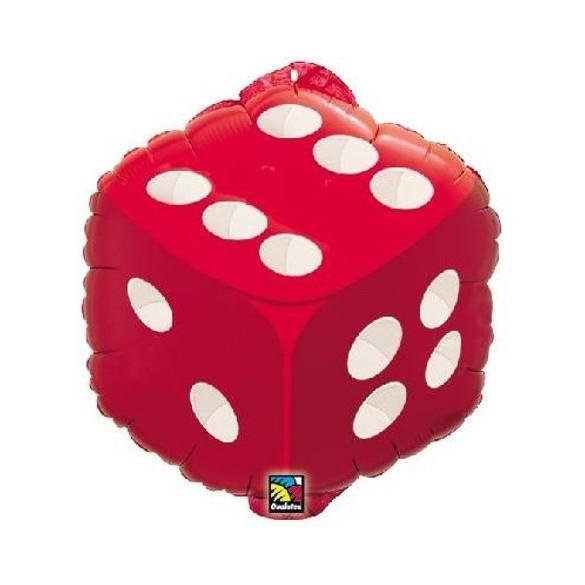 Ballon alu dée 46cm