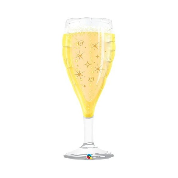 Ballon alu flute à champagne