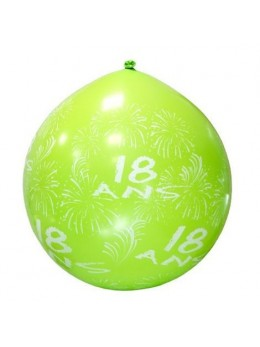 Ballon géant 18ans