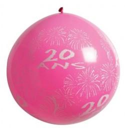 Ballon géant 20 ans