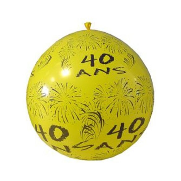 Ballon géant 40 ans