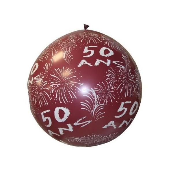 Ballon géant 50 ans