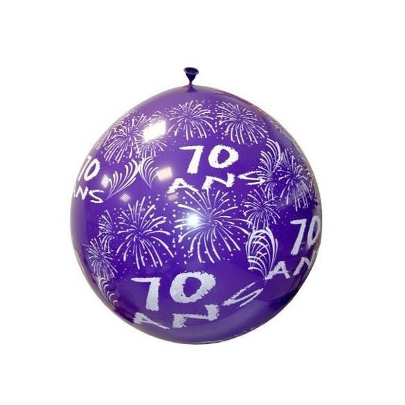 Ballon géant 70 ans
